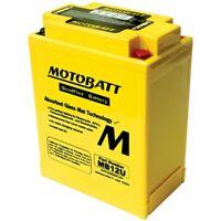 New Motobatt Battery For Honda CB360, G, T 360cc 74 75 76 1974 1975 1976 YB12AAS