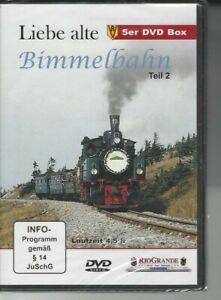 Liebe alte Bimmelbahn Teil 2.   5er DVD Box