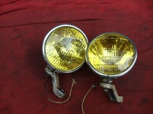 Fog King Lamps Fog Light Teleoptic sealed beam 1940s 1930s rat hot street rod