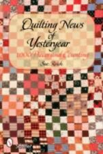 Quilting News of Yesteryear: 1,000 Pieces and Counting-ExLibrary