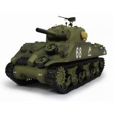 "Char M4A3 ""Sherman"" échelle 1/16 RC avec fumigène NEUF"