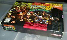 Donkey Kong Country 2 II Super Nintendo SNES Complete CIB Nice