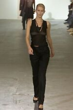 Helmut Lang Archival Vintage Fall 2000 Cashmere Silk Cami Tank Top 44 IT / M