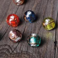 New DIY 5Pcs 12mm Lot Czech Glass Spacer Loose Beads bracelet Jewelry Making