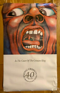 King Crimson - In the Court of the Crimson King Retail Poster (Damaged)