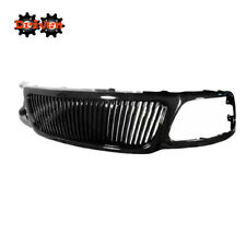 97-03 F150 Expedition Glossy Black Vertical Front Grille Plastic Shell Upgrade