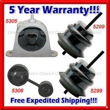 K759 Fit Chrysler Pacifica 04-06 3.5L/05-08 AWD 3.8L, Motor & Trans Mount 4PCS