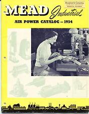 "1954 Vintage ""Mead Industrial"" Catalog - Air Power Tools"