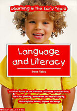 Language and Literacy (Learning in the Early Years), New, Yates, Irene Book
