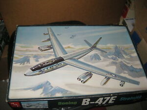 Mint in box Boeing B-47E Stratojet in 1/72 scale from 1970s