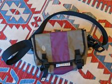 TIMBUK2 XS/S GRAY/PURPLE CLASSIC MESSENGER BAG VINTAGE CROSSBODY MADE IN USA