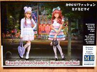 Masterbox 1:35 Minami And Mai Kawaii Fashion Figures Model Kit