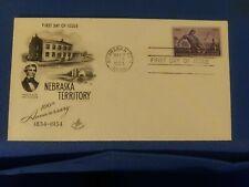 Scott #1060 3 Cent Stamp Honoring The Nebraska Territory First Day Issue
