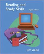 New listing Reading and Study Skills by John Langan (2006, Paperback / Mixed Media, Student