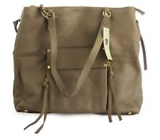 KOOBA Taupe Genuine Leather Tote Large Women's Tan Handbag Shoulder Purse NWT