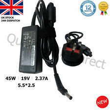 TOSHIBA Laptop Charger Adapter Power Supply PA3822U-1ACA 19V 2.37A 45W 5.5*2.5mm