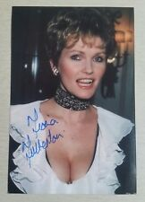 Autograph - Fiona Fullerton - James Bond View to a Kill - live ink on photo