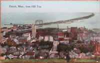 Duluth, MN 1910 Postcard: Birdseye View, From Hill Top - Minnesota Minn