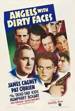 Angels With Dirty Faces Vintage Reproduction Movie Poster James Cagney