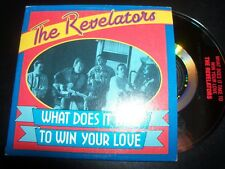 The Revelators What Does It Take To Win Your Love Promo Card Sleeve CD Single
