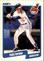 1990 Felix Fermin Fleer Baseball Card #492