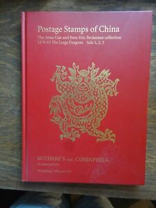 Auction catalog, Postage Stamps of China, Beckeman collection 1878-83 The Large