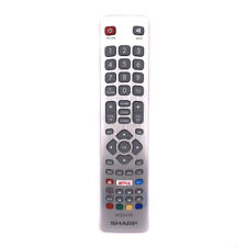 New Genuine SHW/RMC/0115 For Sharp Aquos TV Remote Control With Youtube Netflix