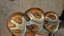 Taylor Made Burner Clubs (Bubble Shaft) Attack, 5, 7 (used) Right Handed!!!!!!