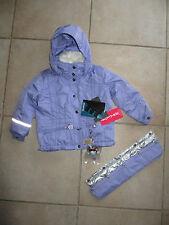 veste blouson ski poivre blanc mauve neuve avec étiquettes taille 3 ans