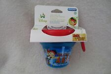 Disney Baby Toddler Feeding Snack Bowl Jake and Pirate Food Storage Eat No spill