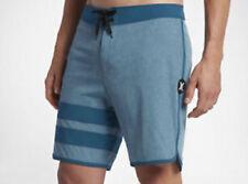 Hurley Block Party Phantom Heather 2 Boardshort (38) Blue