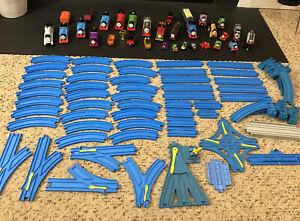 12 X Tomy Thomas /& Friends Trackmaster Curvo Track Peças Lote Trem De Blue Loop