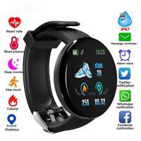 Smart Watch Sports Bracelet Heart Rate Monitor Blood Pressure Fitness Tracker AU