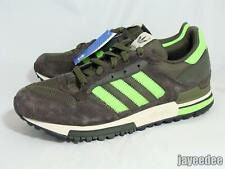 ADIDAS ORIGINALS ZX 600 TRAINERS 2006 465388 OLIVE/MACAW MISMATCHED L 9/R 10