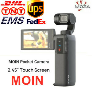 """MOZA MOIN Camera Anti-shake 3-Axis Gimbal Stabilizer 4K 60fps 2.45"""" Touch Screen"""