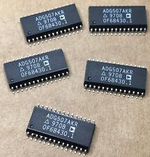 5 x ADG507AKR  IC MULTIPLEXER DUAL 8X1 28-SOIC