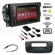 Pioneer Double DIN Bluetooth USB Stereo+Backup Camera+Chevy Truck Radio Dash Kit