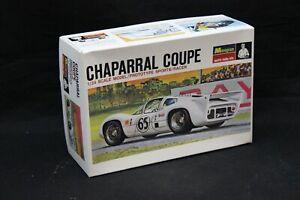 Monogram CHAPARRAL COUPE PROTOTYPE SPORTS/RACER Model Kit 1:24 Open Box NICE
