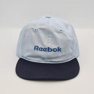 Reebok Junior Classic Logo Strap Back Adjustable Cap - Baby Blue