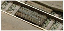LASER-CUT HO SCALE RAILROAD FOOT CROSSING TYPE 4