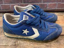 CONVERSE Nylon Trainer OX Shoe Size Men's 6.5 Women's 8.5 Blue Style # 1J878
