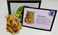 Cubby Harmony Kingdom Pot Bellys Bellies Figurine Box Bear Cub Kodiak with Box