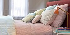 NWT NEW Yves Delorme Voguer Coral Menthe Euro or King Sham