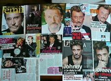 Johnny HALLYDAY -  LOT N° 1 - Clippings - Pages de magazines
