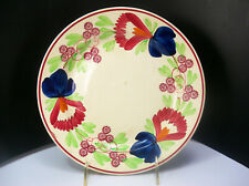 Petrus Regout Maastricht Holland Spongeware Floral Luncheon Plate 9 inches