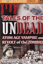 Halloween Zombie Horror Classics - Double Feature Movies + Cartoon - New