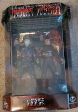 McFarlane Freddy Vs Jason Deluxe Box Set Movie Maniacs Friday the 13th