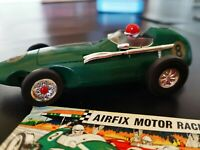 AIRFIX# vintage # scalextric RUNNING EXELLENT VANWALL RACING CAR No 8