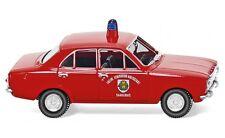 """#086130 - Wiking Feuerwehr - Ford Escort """"Saarlouis"""" - 1:87"""