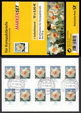 Bund Folienblatt 1 a gest. Narzisse 2008 10xNr.2515  Vollstempel Bremen Ersttag